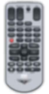 Remote Control for Automotive DVD Players - Dusun