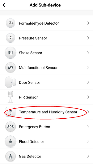 Figure 16 temperature and humidity senso