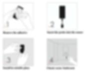 water-leakage-sensor-zigbee-installation