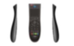 Bluetooth Smart TV Remote Control With Touchpad - Dusun