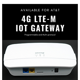 Dusun Announces Its 4G IoT Gateway Available for AT&T LTE-M Network
