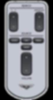 DVD remote control for Auto - Dusun