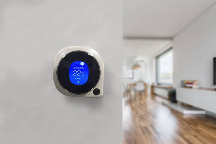 Zigbee thermostat in home automation