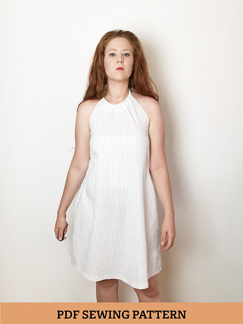 HAMMERSMITH DRESS + CROP TOP - Pdf Sewing Pattern