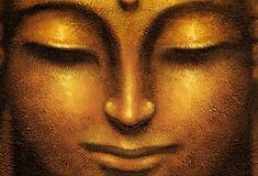 Creative_Wallpaper_Face_of_golden_Buddha
