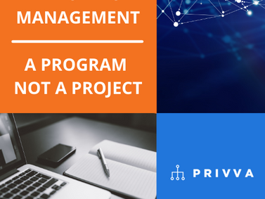 Third-Party Risk Management is a Program, Not a Project