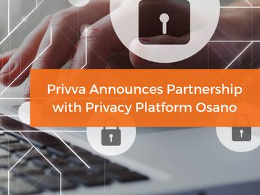 Privva Announces Partnership with Privacy Platform Osano
