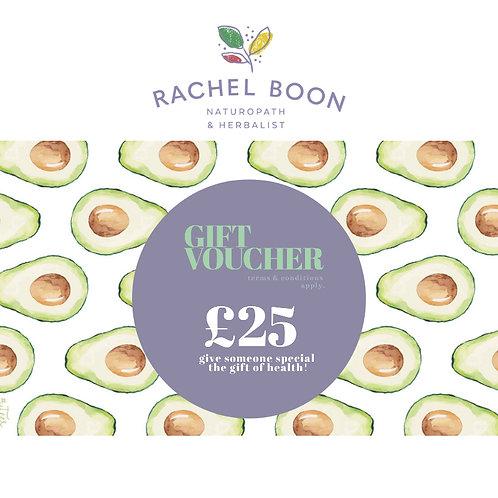 Boon Clinic Gift Voucher £25