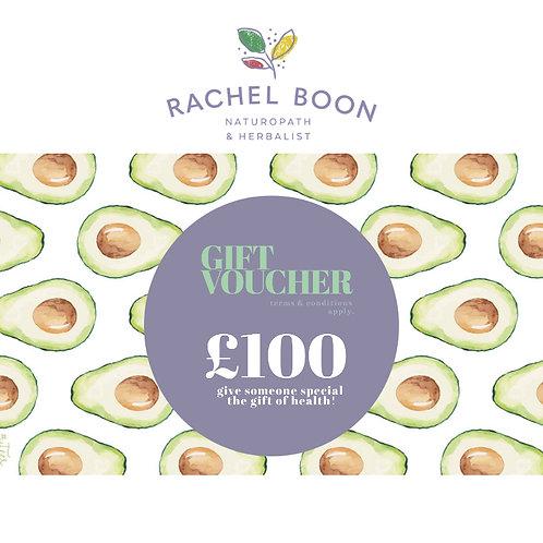 Boon Clinic Gift Voucher £100