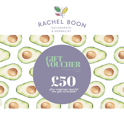 Boon Clinic Gift Voucher £50