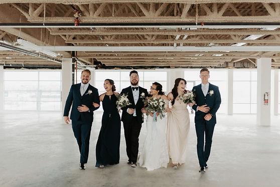 The Wedding Edit Wedding Party