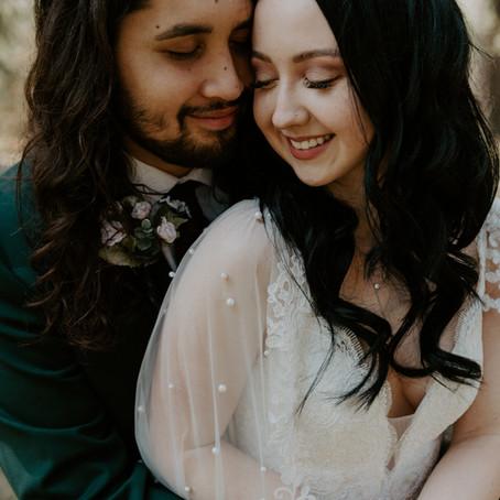 Tyler + Amelia | Intimate Garden Elopement