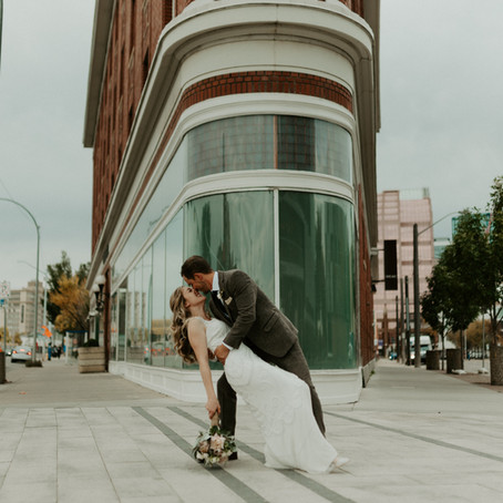 Thomas + Emily | Intimate Edmonton Park Wedding
