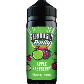 Seriously Fruity Apple Raspberry E-liquid 100ml