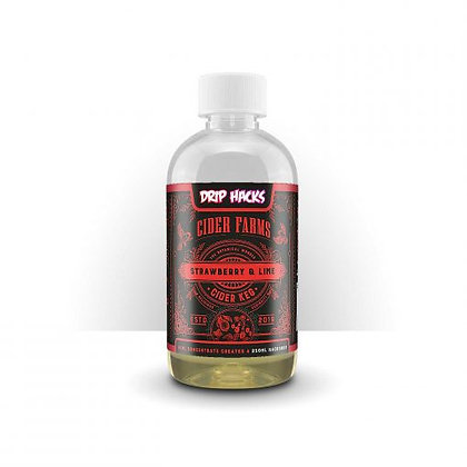Cider Farms Strawberry & Lime 250ml Hackshot