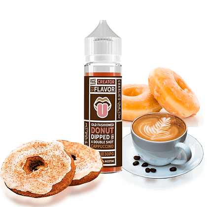 Creator Of Flavour - Donut Cappuccino 50ml