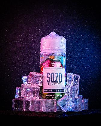 SQZD on Ice - Watermelon Kiwi 100ml