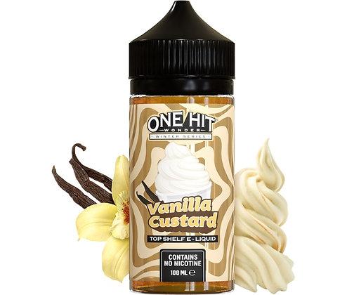 One Hit Wonder Winter Series | Vanilla Custard | 100ml Shortfill