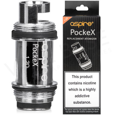 Aspire Pockex Replacement Vape Coils