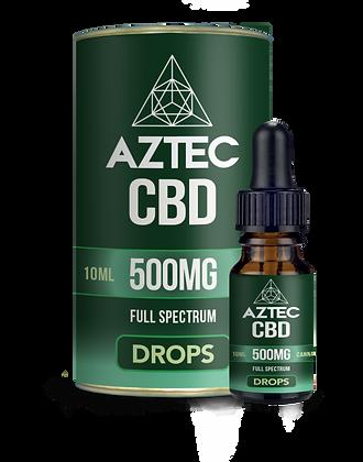 Aztec CBD 500mg Oil Drops 10ml