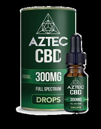 Aztec CBD 300mg Oil Drops 10ml
