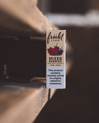 Frukt Cyder - Mixed Berries 10ml
