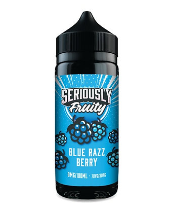 Seriously Fruity Blue Razz Berry E-liquid 100ml
