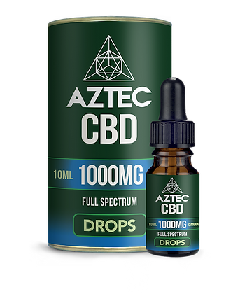 Aztec CBD 1000mg Oil Drops 10ml