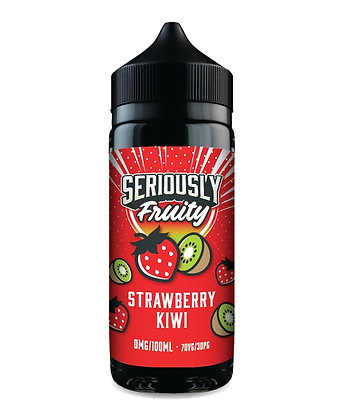 Seriously Fruity Strawberry Kiwi E-liquid 100ml