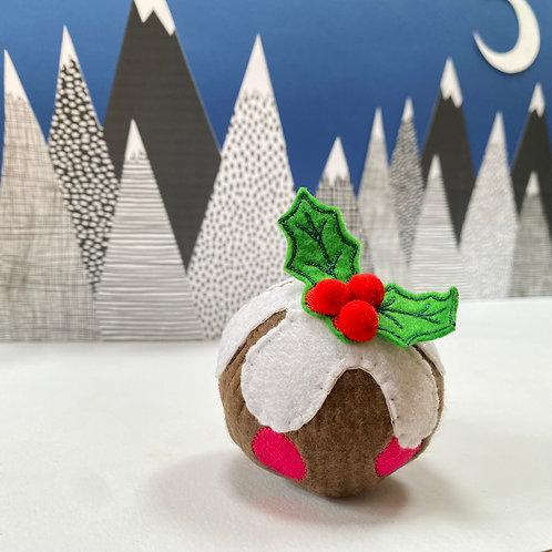 Catnip Christmas Pudding