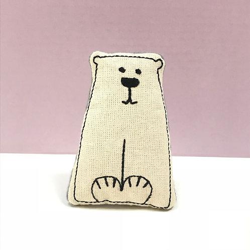 Catnip Polar Bear Cracker