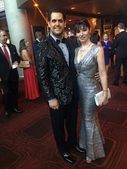 Gabriel Mores & Elizabeth Guerrero, Latin Songwriters Hall of Fame 2014
