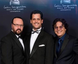 Desmond Child, Gabriel Mores & Rudy Perez, Latin Songwriters Hall of Fame 1994