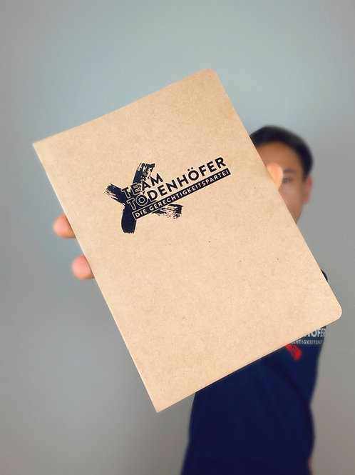 Team Todenhöfer A5-Notizbuch