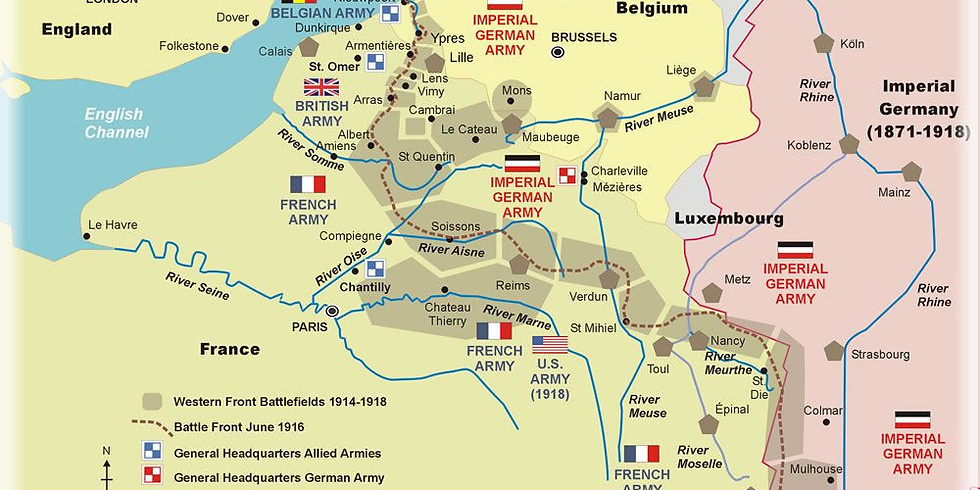 Touring Western Front Battlefields - a personal odyssey