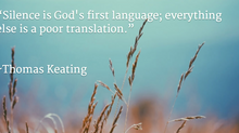 God's First Language . . .