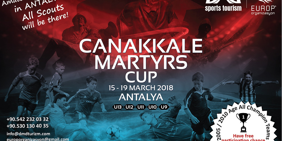 Canakkale Martyrs Cup 2018