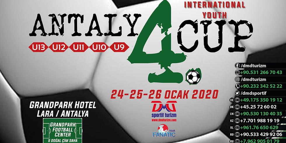 4. Antalya Cup Uluslararası Futbol Turnuvası