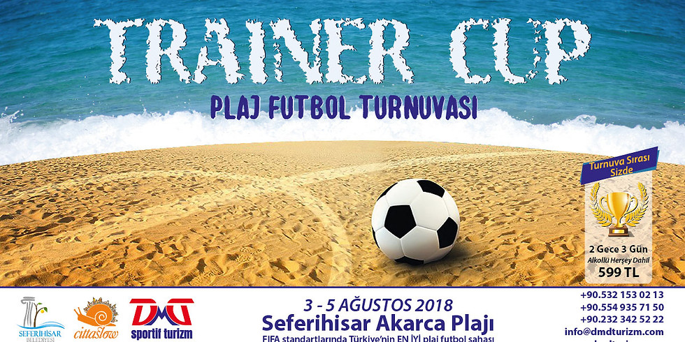 Trainer Cup Plaj Futbol Turnuvası