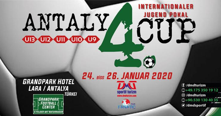 4. Antalya Cup Internationaler Jugend Pokal