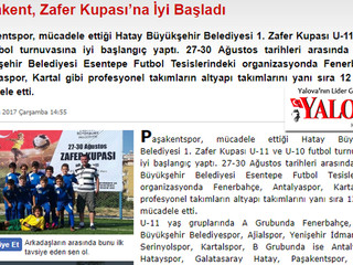Paşakent, Zafer Kupası'na İyi Başladı