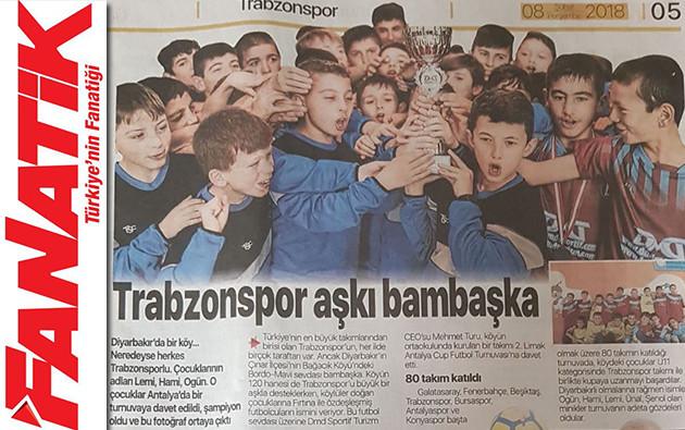fanatik gazetesi dmd turizm trabzonspor aşkı bambaşka haberi küpür