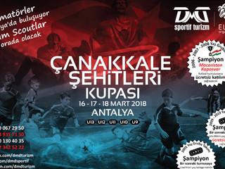 Çanakkale Şehitleri Kupası Futbol Turnuvası kayıtları başladı