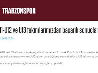 U11 - U12 ve U13 takımlarımızdan başarılı sonuçlar