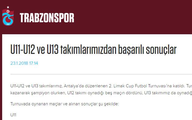 U11-U12 ve U13 takımlarımızdan başarılı sonuçlar
