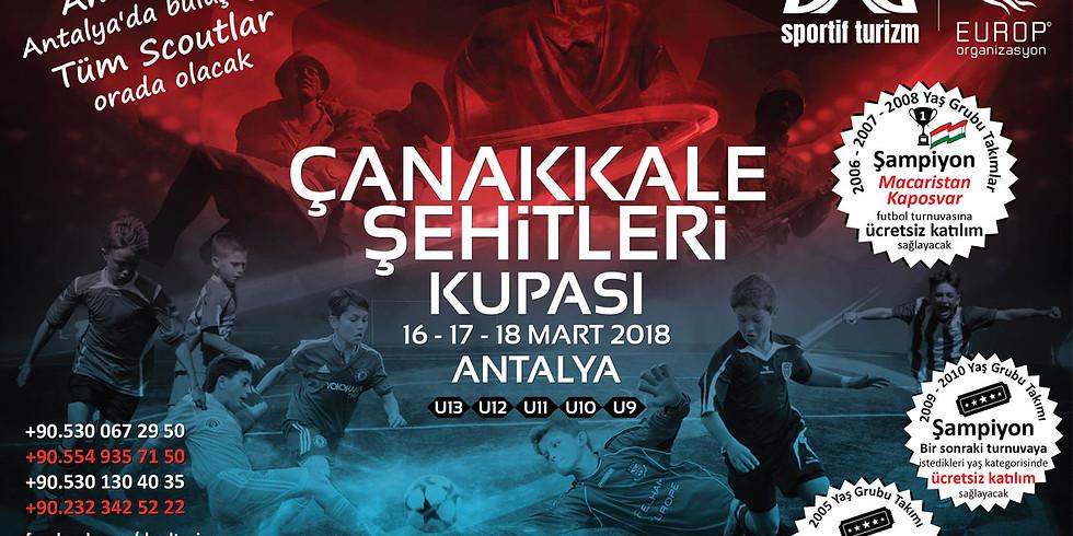 Çanakkale Şehitleri Kupası - 2018