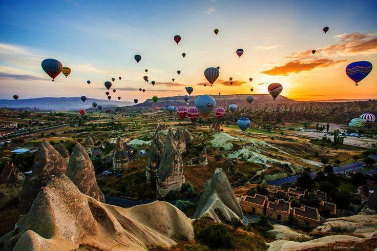 kapadokya balon seyahati gezisi