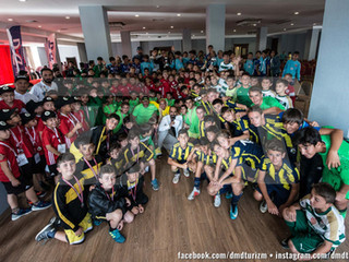 Champions of Kartepe Cup football tournament