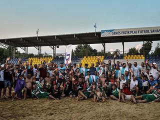 TEOS MASTER CUP Plaj Futbol turnuvasının şampiyonu belli oldu