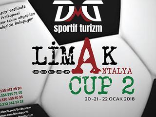 Limak Antalya Cup 2 Futbol Turnuvası Kayıtları Başladı
